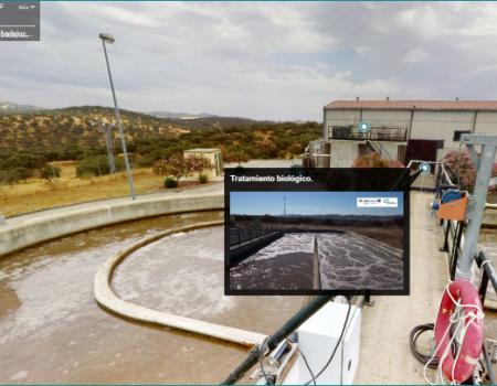 Visita virtual a una depuradora de aguas residuales para conocer su funcionamiento